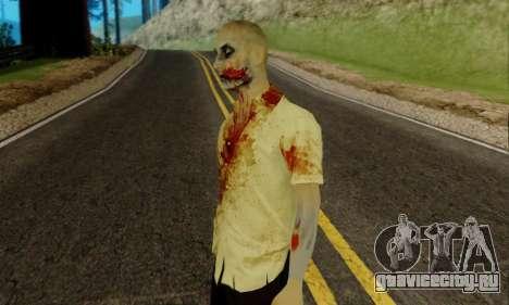 Зомби из GTA V для GTA San Andreas второй скриншот