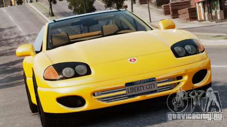 Dodge Stealth Turbo RT 1996 для GTA 4 вид слева