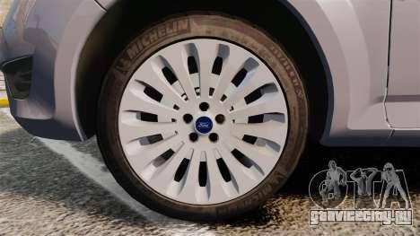 Ford Mondeo Hungarian Police [ELS] для GTA 4 вид сзади
