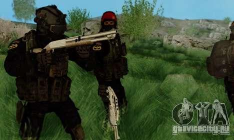 Kopassus Skin 3 для GTA San Andreas второй скриншот