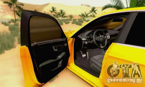 Mercedes-Benz E63 AMG для GTA San Andreas колёса