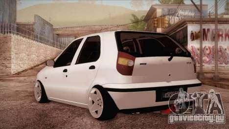 Fiat Palio BKModifiye для GTA San Andreas вид сзади слева