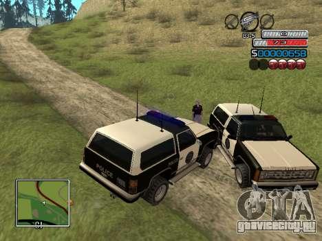 Новый C-HUD для GTA San Andreas шестой скриншот