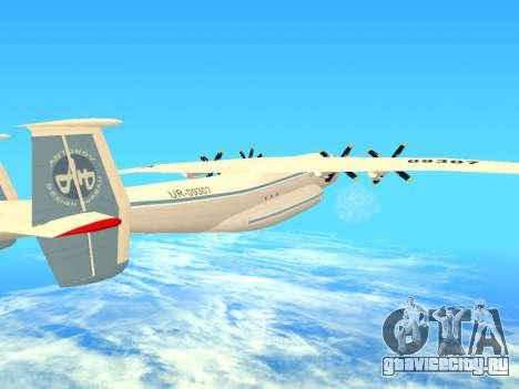 АН-22 Антей для GTA San Andreas вид сверху