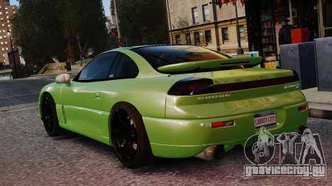 Dodge Stealth Turbo RT 1996 для GTA 4 вид сбоку