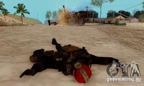 Kopassus Skin 1 для GTA San Andreas