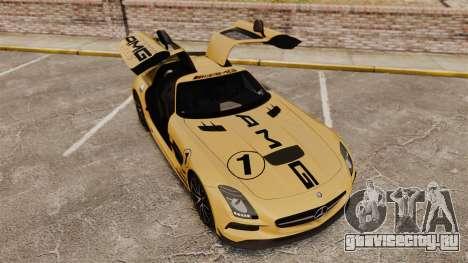 Mercedes-Benz SLS 2014 AMG Driving Academy v2.0 для GTA 4 вид сбоку