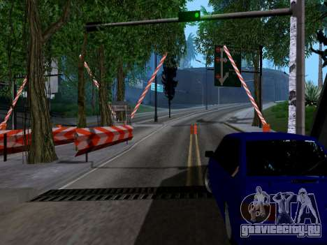 Таможня Los Santos-San Fierro v2.0 для GTA San Andreas третий скриншот