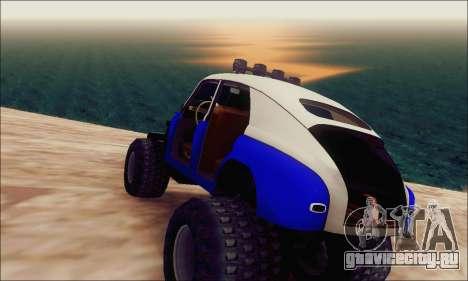 ГАЗ М20 Монстр для GTA San Andreas вид слева