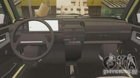 ВАЗ-21099 Лада Спутник для GTA 4 вид сбоку