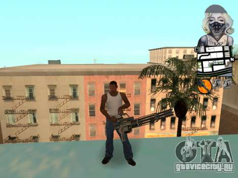 C-hud by Mark Osborne для GTA San Andreas