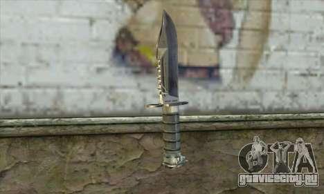 Нож из S.T.A.L.K.E.R. для GTA San Andreas второй скриншот