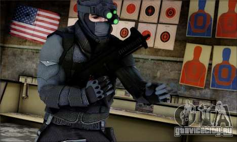 Alfa Team Weapon Pack для GTA San Andreas третий скриншот