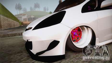 Honda Jazz RS Street Edition для GTA San Andreas вид справа