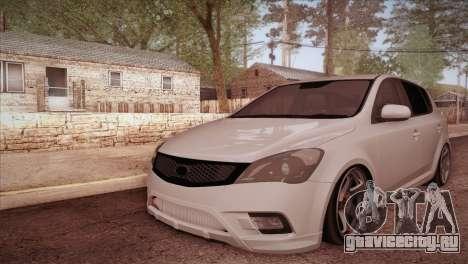 Kia Ceed 2011 SA Plates для GTA San Andreas