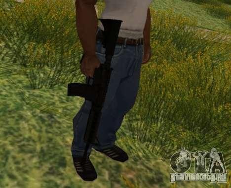 M4 CQB для GTA San Andreas пятый скриншот