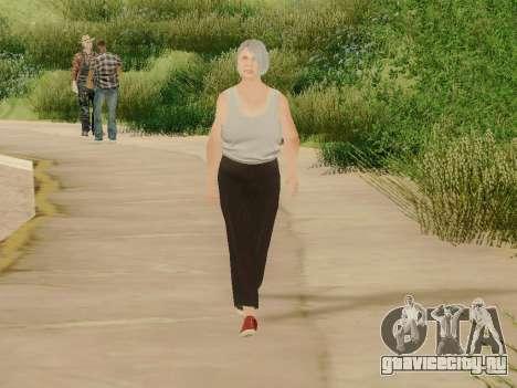 Пожилая женщина для GTA San Andreas пятый скриншот