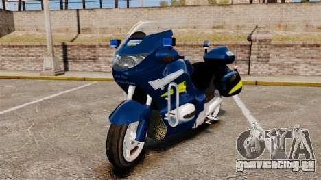 BMW R1150RT Gendarmerie [ELS] для GTA 4