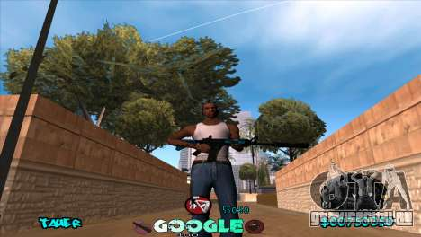 C-HUD Google для GTA San Andreas