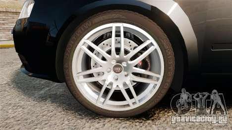 Audi S4 Avant TEK [ELS] для GTA 4 вид сзади