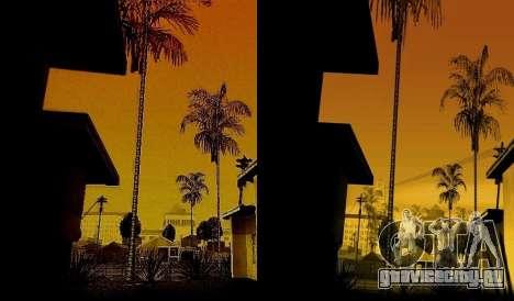 HD карта, радар и меню для GTA San Andreas четвёртый скриншот