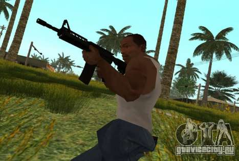 M4 CQB для GTA San Andreas четвёртый скриншот