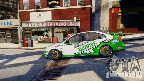 Chevrolet Lacetti для GTA 4 вид снизу