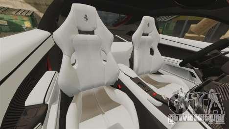 Ferrari F12 Berlinetta 2013 [EPM] Deaths-head для GTA 4 вид сверху