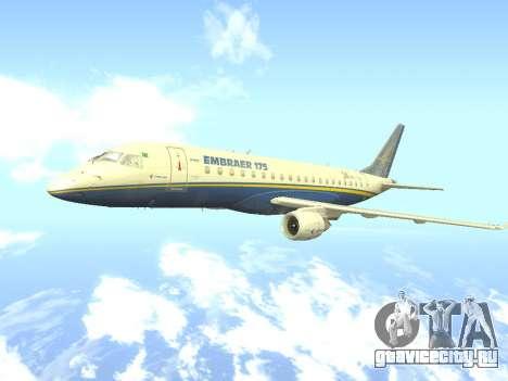 Embraer 175 HOUSE для GTA San Andreas