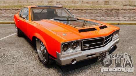 Declasse SabreGT new wheels для GTA 4