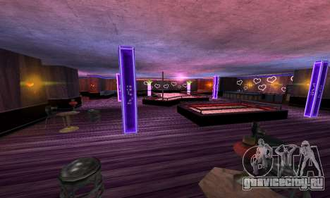 Retexture Jizzy, Alhambra, Pig Pen для GTA San Andreas четвёртый скриншот