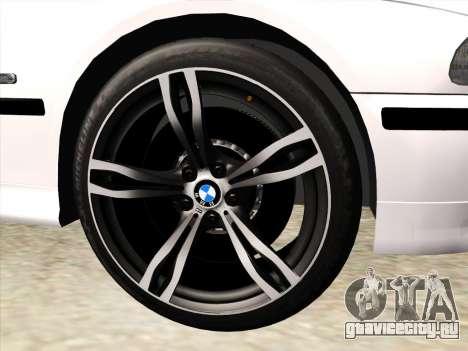 BMW 530d E39 для GTA San Andreas вид сверху