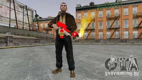 Огнемёт MX-295 для GTA 4 пятый скриншот