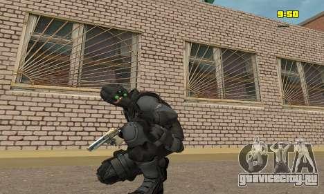 Арчер из игры Splinter Cell Conviction для GTA San Andreas третий скриншот