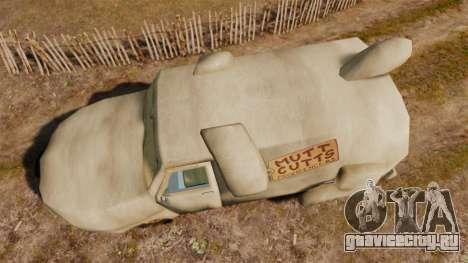 Фургон -Тупой и еще тупее- для GTA 4 вид справа