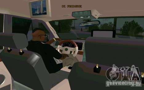 Lincoln Navigator DUB Edition для GTA San Andreas вид сзади слева