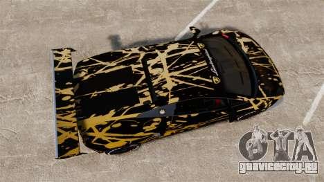 Lamborghini Gallardo LP560-4 GT3 2010 BLOB для GTA 4 вид справа