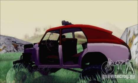 ГАЗ М20 Монстр для GTA San Andreas вид справа