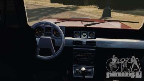 Mitsubishi Pajero I WAGON для GTA 4 вид изнутри