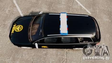 Audi S4 Avant TEK [ELS] для GTA 4 вид справа