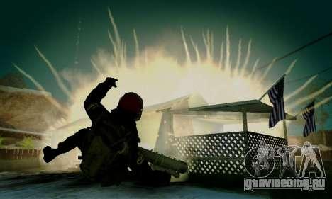 Kopassus Skin 1 для GTA San Andreas девятый скриншот
