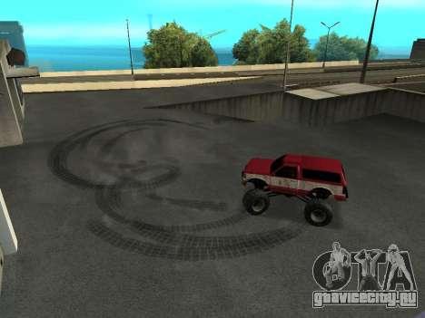 Street Monster для GTA San Andreas вид сбоку