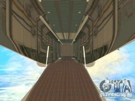 АН-22 Антей для GTA San Andreas двигатель