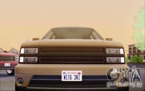 Gallivanter Baller из GTA V для GTA San Andreas вид сбоку