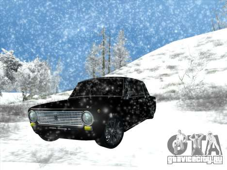 ВАЗ 2101 Tuning Style для GTA San Andreas вид сзади