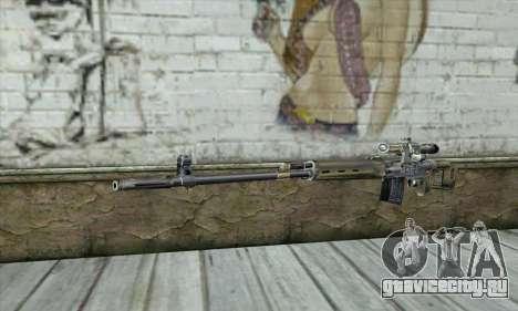 Снайперская Винтовка из S.T.A.L.K.E.R. для GTA San Andreas