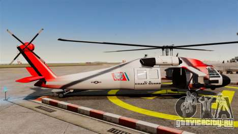 Annihilator U.S. Coast Guard HH-60 Jayhawk для GTA 4 вид слева