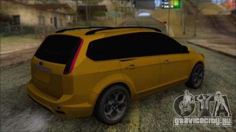 Ford Focus 2008 Station Wagon-Stock для GTA San Andreas вид слева