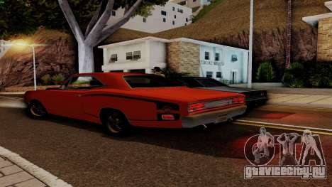 Dodge Coronet RT 1969 440 Six-pack для GTA San Andreas салон
