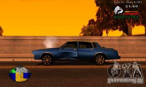 Полоска HP машины для GTA San Andreas второй скриншот